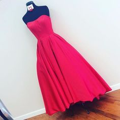 Sherri Hill Short Front Long Back Red Prom Dress
