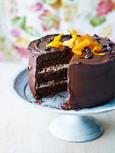 If you want to impress, try baking this orange mocha cake! Coffee and orange go brilliantly with chocolate, so try bundling them together into an amazingly intense chocolate cake!
