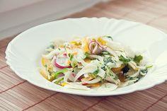 Má to šťávu!: Fenyklový salát Potato Salad, Cabbage, Potatoes, Vegetables, Ethnic Recipes, Food, Red Peppers, Potato, Essen