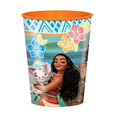 Moana Plastic Cups Pack of 12 Moana Themed Party, Moana Birthday Party, Moana Party, 9th Birthday Parties, Girl Birthday Themes, Girl First Birthday, 4th Birthday, Birthday Ideas, Party Supplies