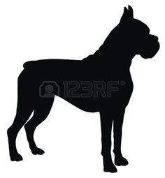 4506990-abstract-vector-illustration-of-dog-silhouette.jpg (323×350)