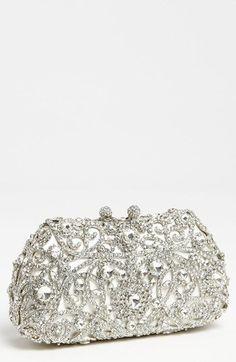 TenTop-A Elegant Evening Bag Lady's Tassel Finger Ring Rhinestone ...