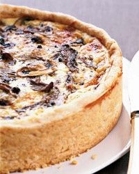 Thomas Keller's Over-the-Top Mushroom Quiche