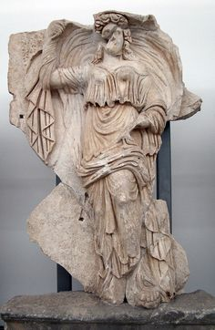 Sebasteion, Himera, personification of the day.    ca. 45 CE.  Aphrodisias Museum.