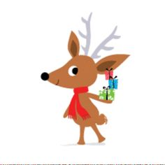 Happy little Reindeer