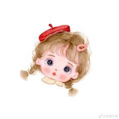 Cute Cartoon Pictures, Cute Cartoon Drawings, Cute Cartoon Girl, Anime Girl Drawings, Cartoon Art, Mode Poster, Girl Cartoon Characters, Doraemon Cartoon, Cute Panda Wallpaper