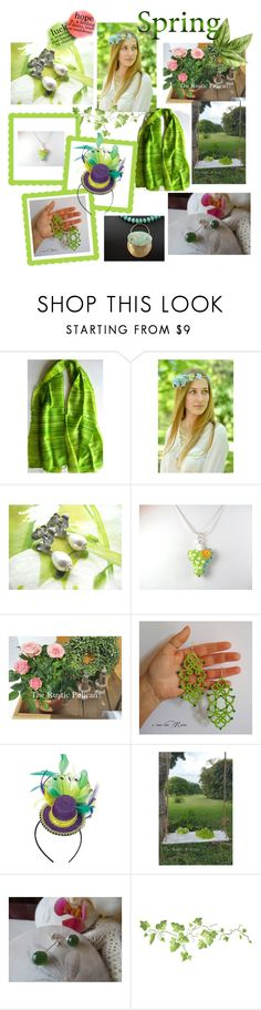 """""""Spring Delights"""" by anna-recycle ❤ liked on Polyvore featuring Buy Seasons, modern, rustic and vintage"""