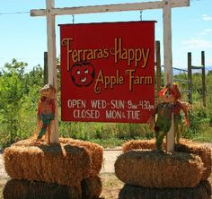 Welcome to Happy Apple Farm; Penrose, Colorado  ((We go every year to pick pumpkins!  Soo much fun!  S.))