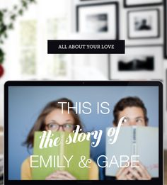 Introducing Us... Personalize your big news with your relationship's defining moments and favorite photos, watch your love story arrange into a gorgeous photo timeline in a few clicks, and easily share your engagement announcement or save the date with your friends & family. http://www.introducing.us/