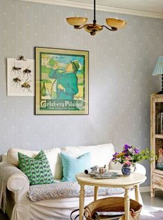 """This lovely living room is from our feature """"Perfectly Finnish"""""""
