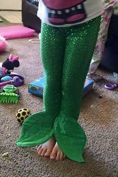 Mermaid Tail Pants. Child sizes. Mermaid by Creations4UrPrincess