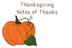 Use these FREE notes to show others your appreciation during the month of November. They're available in fall colors, but you can print in black and white to save your ink!