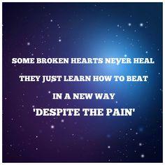 Some broken hearts never heal