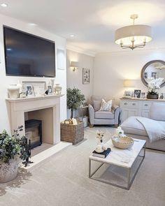 Log Burner Living Room, Condo Living Room, Decor Home Living Room, Living Room Lounge, Cottage Living Rooms, Living Room Grey, House Rooms, Living Room Interior, Home And Living