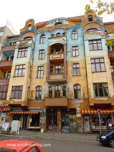 Berlin, Germany #architecture #streetart