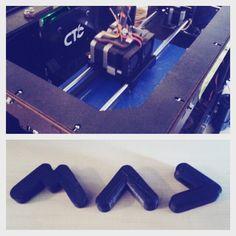 @mikkeliartdesignweek (=MAD) 3D-tulostettuna by @3dkolehti  #MADmikkeli #3dprinting #AieDesign #finnishdesignweeks by saarakomulainen
