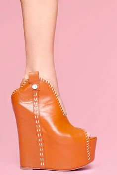 2fe67321439 Kelsey Platform Wedge - Camel Wedge Shoes