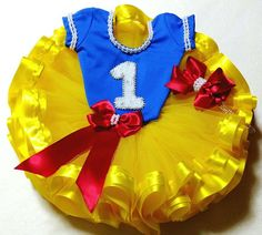 1 Year Birthday, Baby Birthday, Birthday Parties, Snow White Pictures, Tutu Bailarina, Snow White Outfits, Snow White Birthday, Kids Tutu, Show White