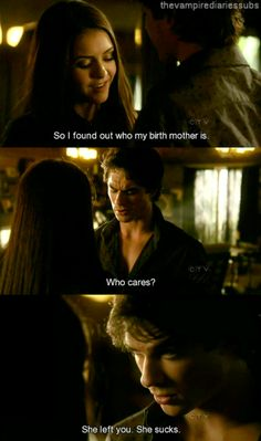 This is why i LOVE Damon #thevampirediaries