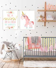 8x10 11x14 Unicorn print, unicorn birthday party, unicorn watercolor, unicorn wall art, unicorn art, unicorn room decor, unicorn nursery, Pink unicorn printable