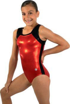 ✔ New Red Flawless Gymnastics Leotard by Snowflake Designs | eBay