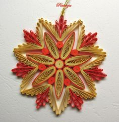 17 Best images about quilling snow flacks on Pinterest ...