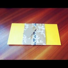 Compliment Wrap by aTISHdesign.   Un Petit Paquet at the Shopping Mall, $4.99