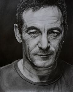 """Name: #JasonIsaacs #Actor  Features  - Graphite pencils on paper 180g / m² - Signed by the artist Measurements  - 55 x 69 cm / 22"""" W x 27"""" H Inch  Video on YouTube↓ https://youtu.be/zZzdNqtZ0sE  #Art #Drawing #CreationByKK"""