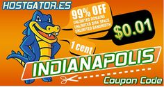 "★★★★★HOSTGATOR COUPONS★★★★★    Get hosting free month with coupon code ""indianapolis"" - http://Hostgator.es    Free bonus of $50 to spend on Google Adwords. Excellent customer service and the best solutions for reseller hosting, vps hosting, and dedicated servers. Enjoy world class hosting technology for your website with hostgator.es"