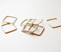 Square Stacking Ring / G. LION