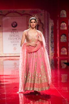 Anarkali by Suneet Verma at India Bridal Fashion Week 2014