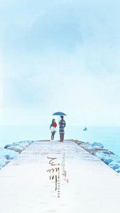 Goblin-Gong Yoo x Kim Go-eun_Korean Drama_id-Subtitle Goblin Wallpaper Kdrama, Goblin Kdrama Fanart, K Wallpaper, Couple Wallpaper, Widescreen Wallpaper, Goblin The Lonely And Great God, Goblin Korean Drama, Goblin Art, Goblin Gong Yoo