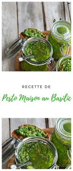 #pesto #Basilic Pickles, Cucumber, Sauces, Vegetables, Food, Homemade Pesto, Kitchens, Meal, Essen