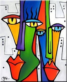 The Modern Art Movements – Buy Abstract Art Right Abstract Face Art, Cubist Art, Modern Art Movements, Halloween Painting, Chicago Artists, Dot Painting, Art Portfolio, African Art, Art Lessons