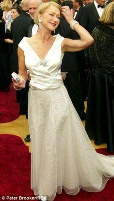 Helen Mirren in Armani - 2002