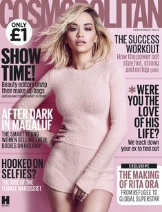 The beautiful Rita Ora is on the cover of Cosmopolitan UK September 2016 issue, and she is looking flawless on it! I love this cover a lot. The pink background works with her outfit and makeup. I l…