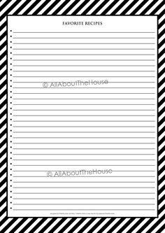 Recipe Organization, Planner Organization, Printable Planner, Printables, Recipe Sheets, Recipe Cover, Recipe Binders, Teacher Planner, Binder Covers
