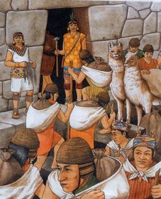 (P) The curacas were the local rulers of the four provinces of the Inca Empire. The curaca were exempt from giving tribute and would receive labor and produce from their subjects.