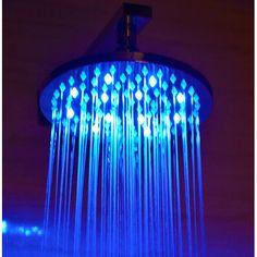 """Found it at Wayfair - 8"""" Round LED Rain Shower Head"""