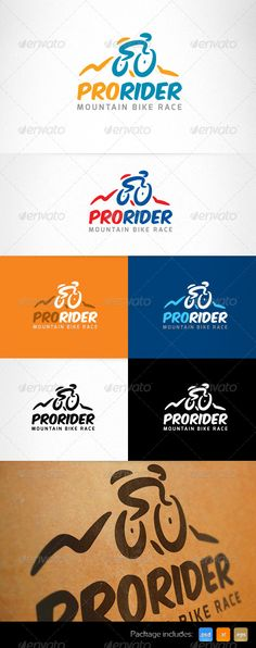 Mountain Sport Bike Race Creative Logo  -  PSD Template • Only available here! ➝ https://graphicriver.net/item/mountain-sport-bike-race-creative-logo-/5071143?ref=pxcr
