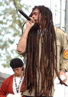 Damian Marley....some serious badass dreads. Gong Zilla!!