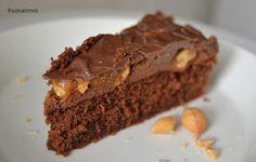 Ruokailmiö: Suolapähkinä-suklaakakku (Snickers-kakku)