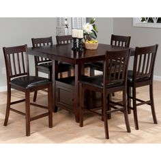 Square Dining Table W 4 Stools 579