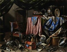 Attributed to Carlo Manieri, Magnificent Still Life, 17th century