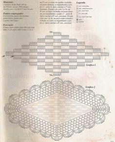 CROCHE CON RECETA: Toallita en crochet exótica