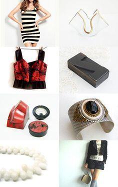 A jewelry by NaLa Etsy treasury ... https://www.etsy.com/treasury/NzQ0NzM5M3wyNzIyMjg3Mzkx/stripes-and-solids #jewelry #fashion #home #vintage
