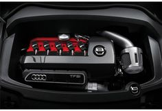 2.5 litre Audi engine