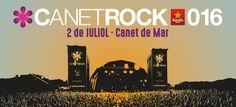 Canet Rock 2016. Pla d'en Sala (Canet de Mar) 2 de juliol