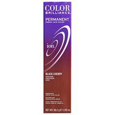 Ion color Brilliance Master Colorist Series Permanent Creme Hair Color Black Cherry