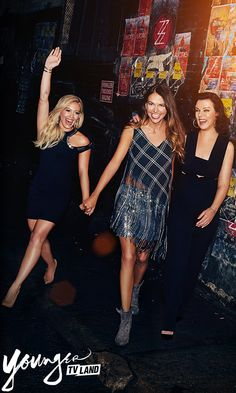 Sometimes being with your best friends is all the therapy you need. From the creator of Sex and the City, Younger stars Hilary Duff, Sutton Foster and Debi Mazar. Season 2 premieres January 13 10/9C. Click here to watch a preview!